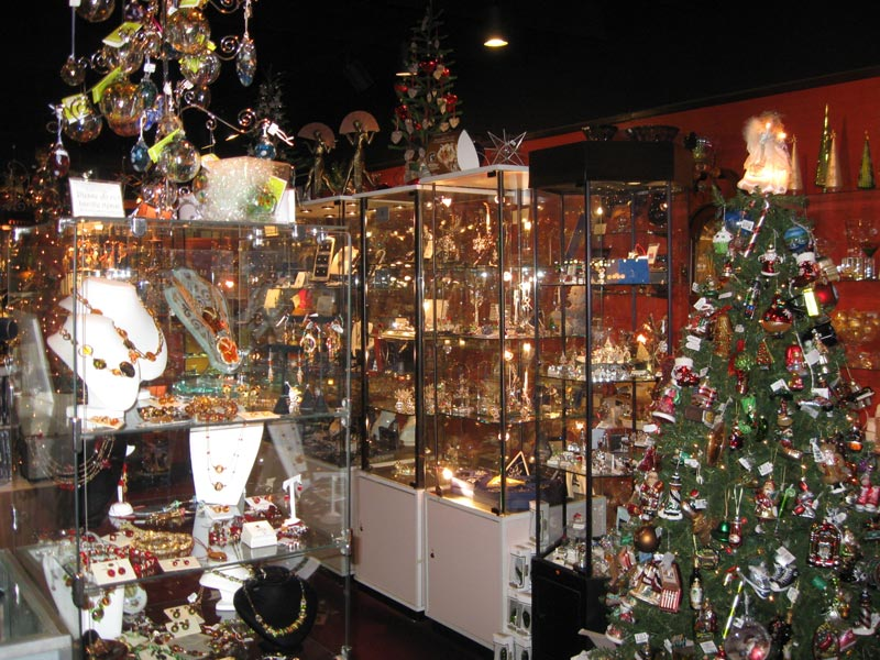 sparkle plenty thats what you will think as you walk down our aisleswe also love christmas ornaments adorn our store all year long - Christmas Decoration Store